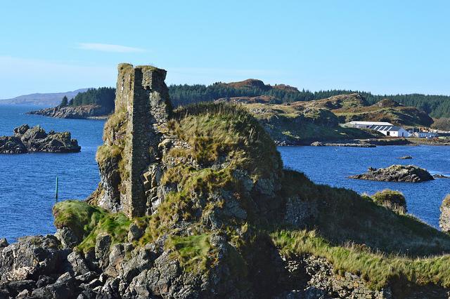 Dunyvaig Castle bei Lavagulin