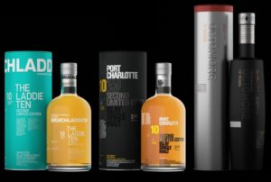 The three 10's from Bruichladdich