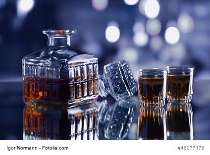 Haltbarkeit von Whisky