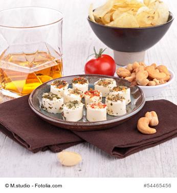 Whisky und Essen