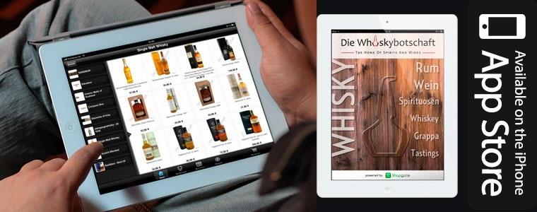 IPad Whiskybotschaft